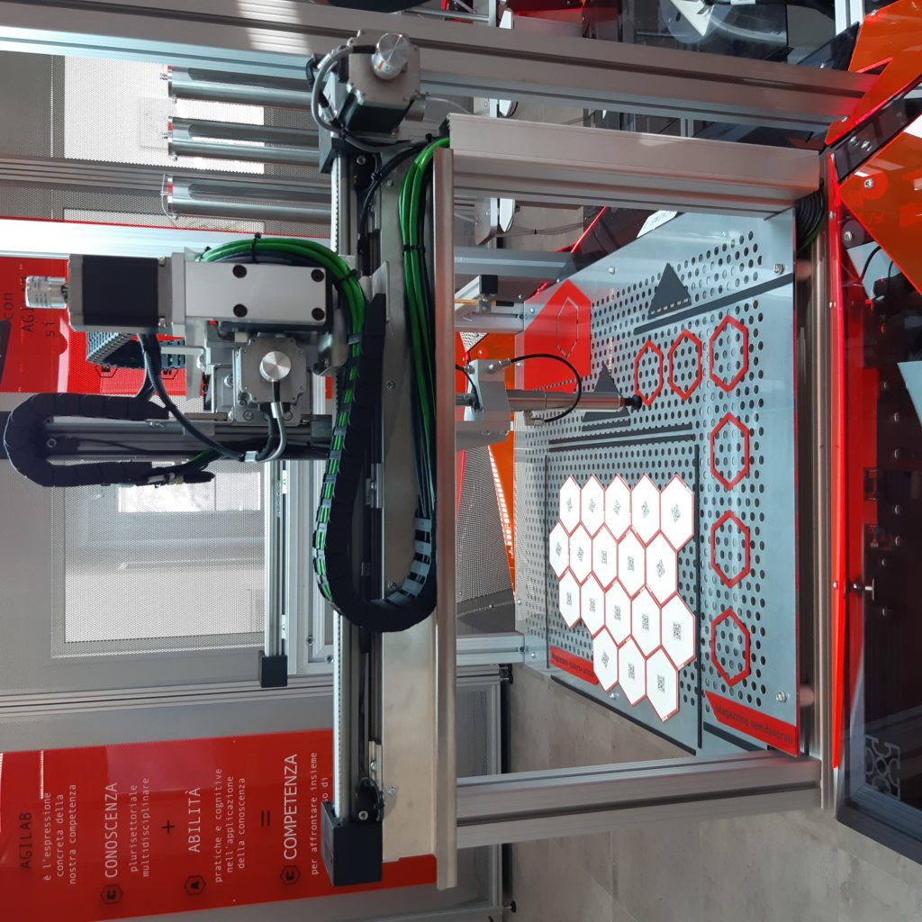 AgiLAB Robotica fissa - cartesiano A