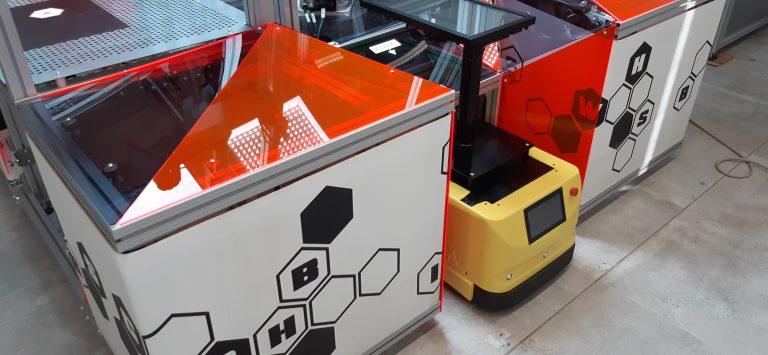 AgiLAB Jobot AGV robotica mobile