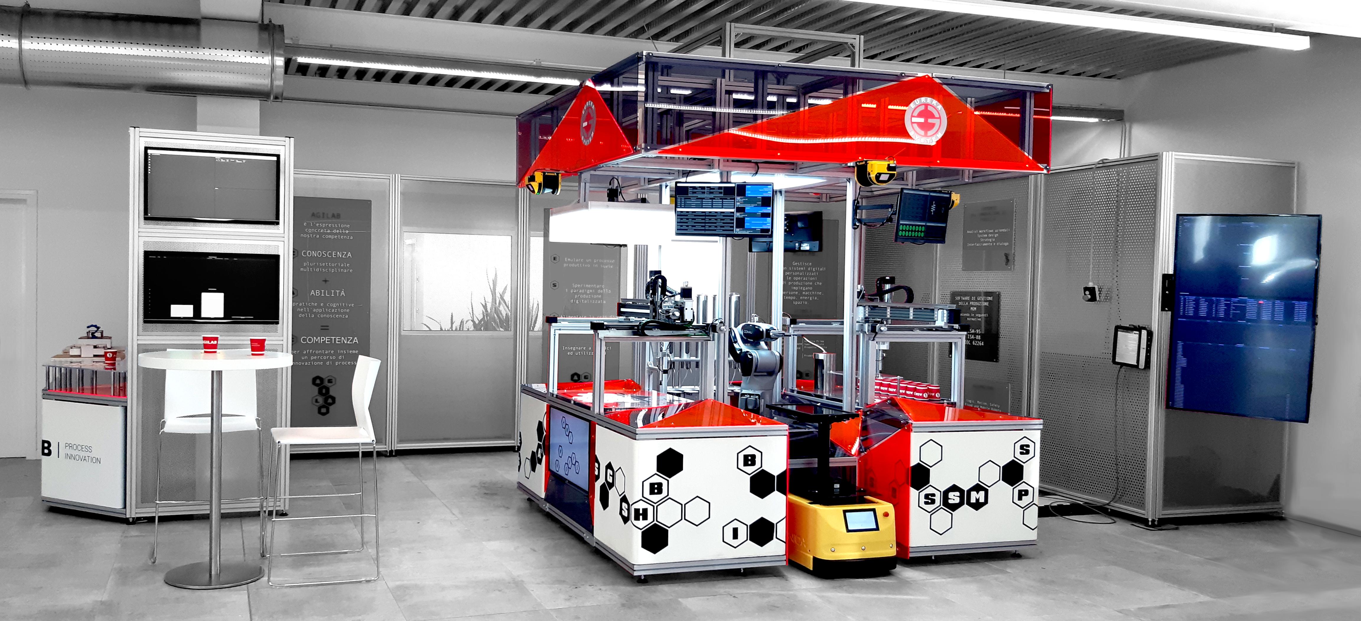 Laboratorio interattivo robocentrico AgiLAB