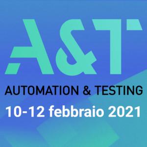 Fiera A&T 2021 Automation & Testing