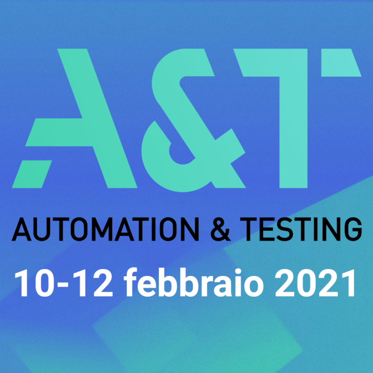 Fiera A&T 2021 Automation & Testing
