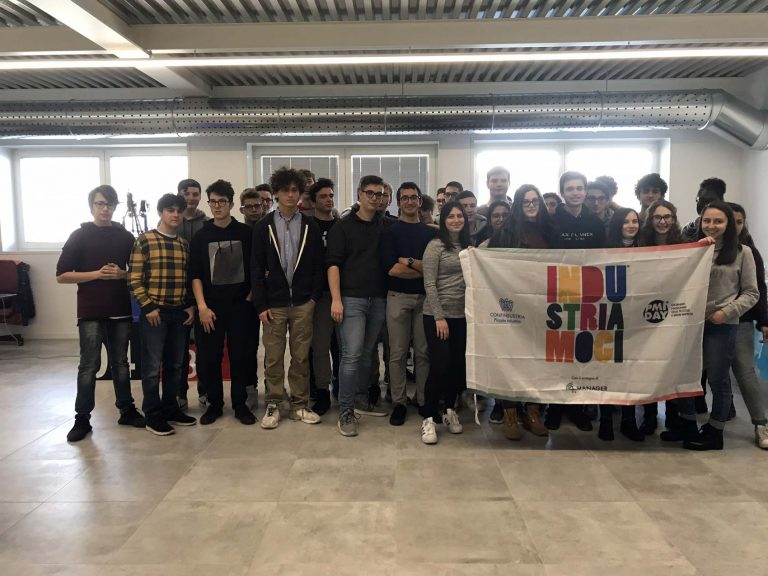 Students of the Max Plank Industrial Technical Institute of Treviso visiting AgiLAB