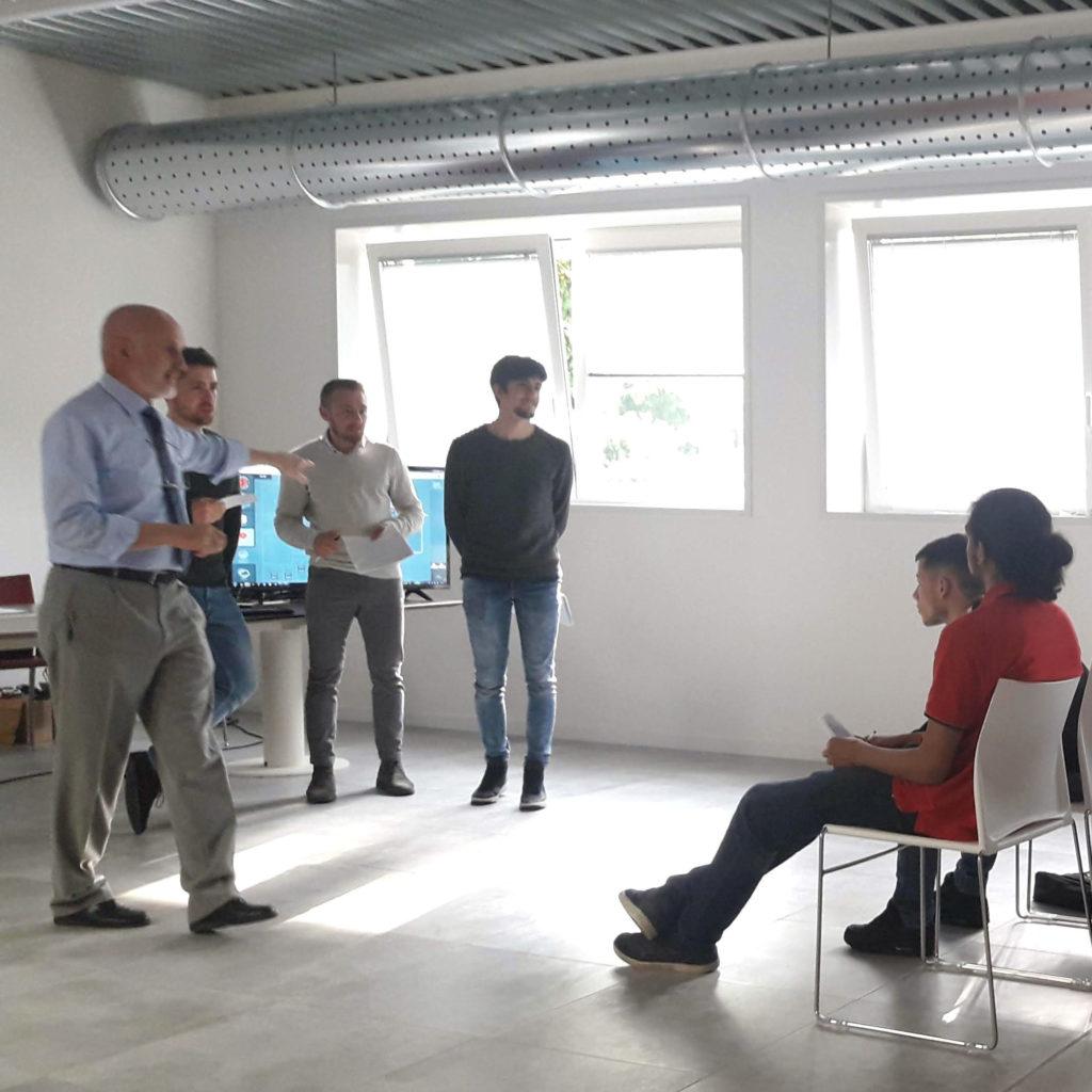 Teaching at AgiLAB Academy