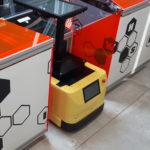 AgiLAB Jobot AGV mobile robot with fleet management