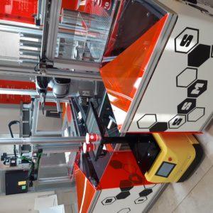 AgiLAB Jobot AGV mobile robot with fleet management software