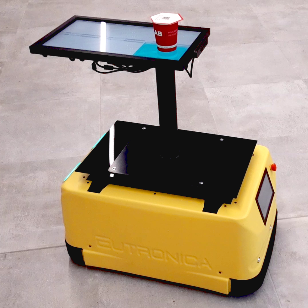 AgiLAB Jobot AGV mobile robot with fleet management