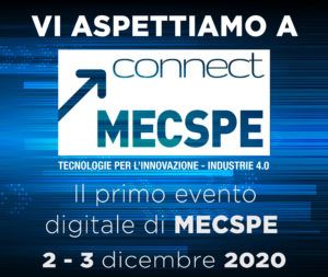 Appointment at MECSPE Connect 2-3 December 2020